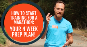 how to start training for a marathon