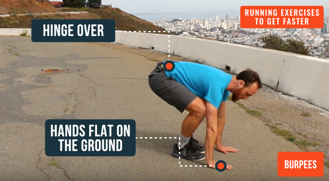 how to run faster using burpees