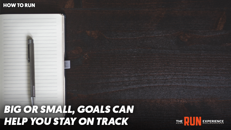 empty notebook for goals