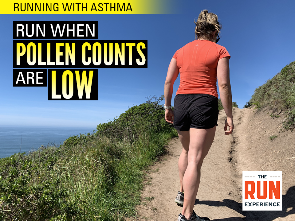 help your running breath by avoiding pollen