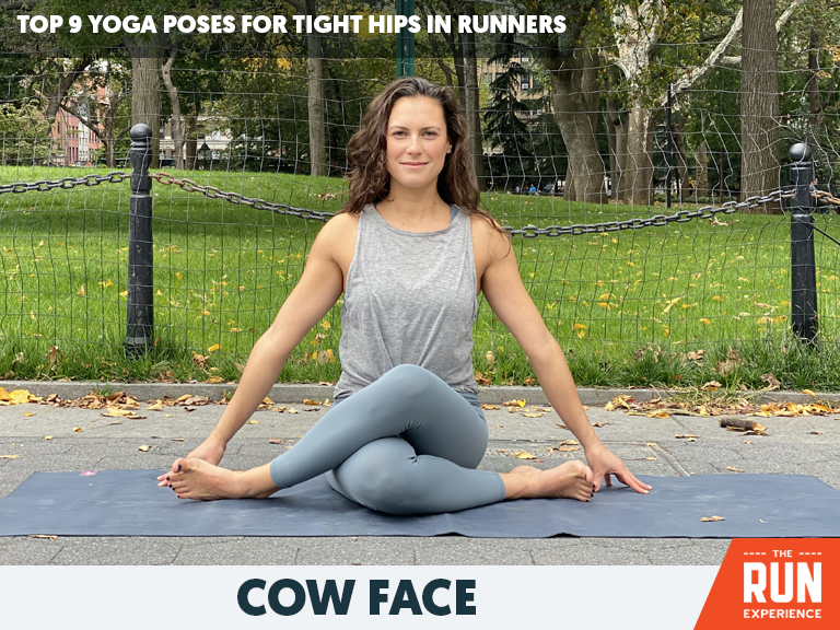 Cow Face Yoga Pose