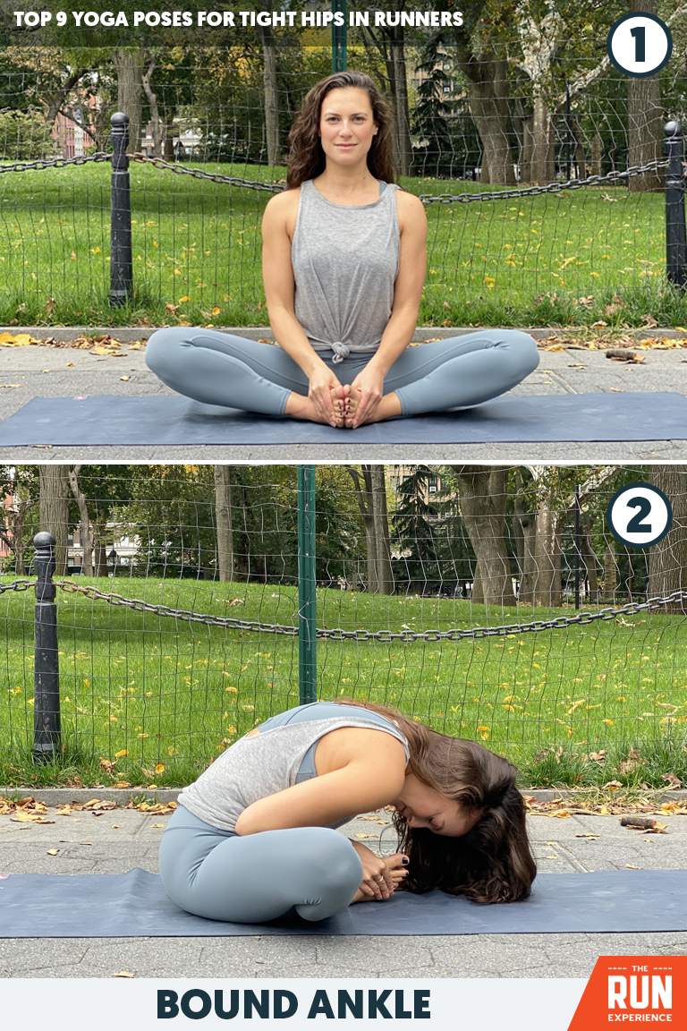 Bound Ankle Yoga Pose